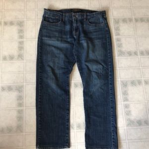 Sienna Tomboy Crop Lucky Brand 14/32 Cropped Jeans
